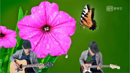 海 滨   吉他弹奏  四季歌