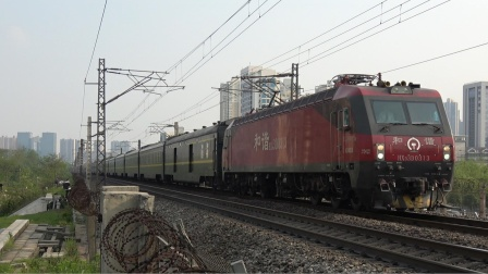 [火车]HXD3D+25T[Z162] 昆明-北京 通过开福上行 广铁长沙地区