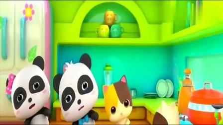宝宝巴士:厨房安全,小朋友一定得知道的厨房安全知识