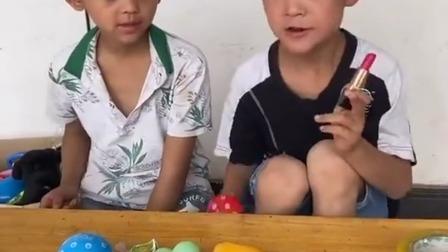 趣味童年:宝贝这个不是你的,蘑菇玩具才是你的