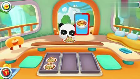 宝宝巴士游戏:河马还真是捧场呀,又来妙妙餐厅吃饭了
