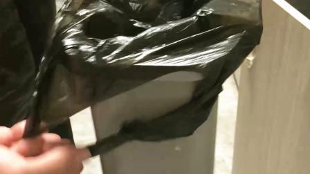 好物推荐:可以轻松扎口的垃圾袋