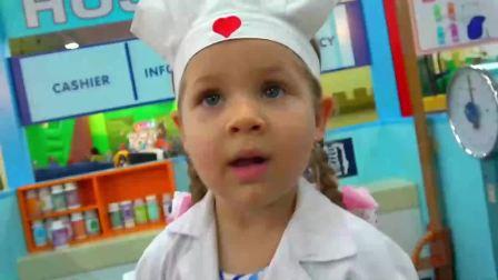 萌宝小可爱:小萝莉变身小护士