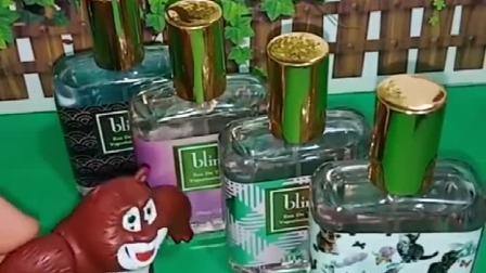 熊大买了四瓶香水,准备送给翠花,翠花肯定会喜欢