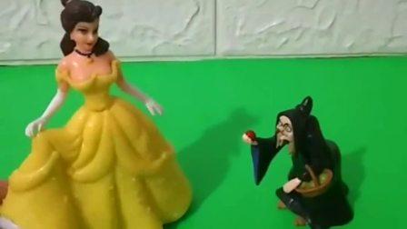王子要来迎娶白雪啦,贝儿也想嫁给王子,贝儿会破坏白雪的婚礼吗
