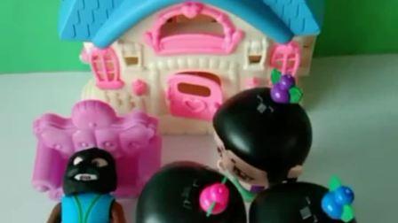 葫芦娃们今天敷面膜啦,真是太时尚啦,你们还能认出来他们吗