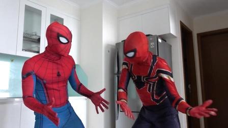 蜘蛛侠:两个蜘蛛侠在现实生活中的问题