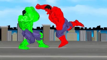 红铁人VS绿铁人