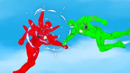 超级英雄:铁人之战