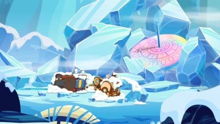喜羊羊-一起铲雪