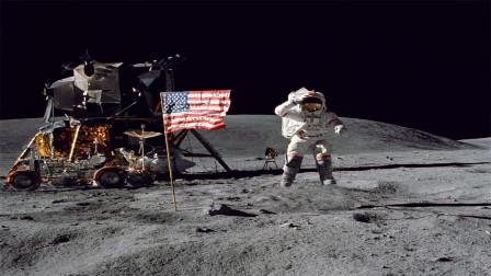 月球上究竟有啥?美国突然通过一项法案,中俄不得靠近这片区域