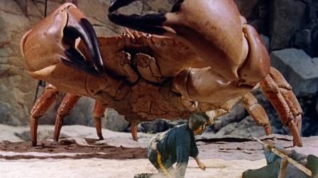 7人流落神秘岛,这里动物植物都已变异,螃蟹比怪兽还大!