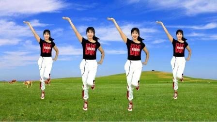 32步《姑娘等你》弹跳太好看,跳完爆汗,减肥瘦身好