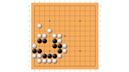 寻找围棋网络课堂,死活训练,冲段难度24