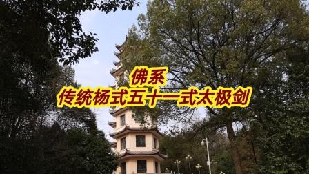 佛系   传统杨式五十一式太极剑