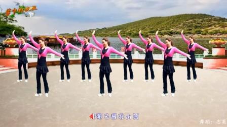 梦中的流星广场舞《厉害了我的国》动感优美32步