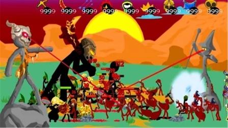 火柴人战争遗产:狮鹫大帝加精英打得巫师满地爬