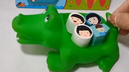 鳄鱼先生带小朋友去游乐园了,小朋友玩的很开心