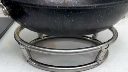 每次做饭热锅没地方放,快试试这个锅架,大小锅都能用!