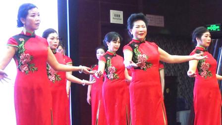 手型手位操《似水流年》小华行走艺术团2021迎新春庆党建文艺联欢