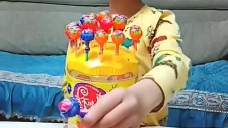 童年趣事:我要吃棒棒糖,给我一个……