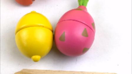 今天一起来切柠檬和火龙果