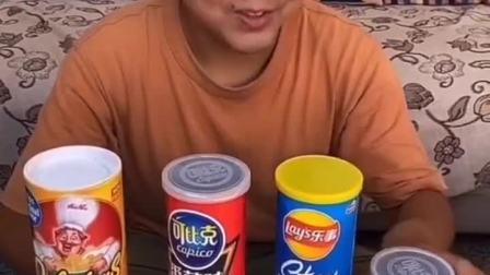 童年趣事:薯片罐子装的不是薯片居然是这个,吓坏我了