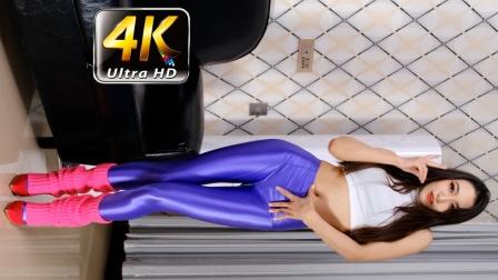 春光娱乐 4K热舞 小唇紫色瑜伽裤