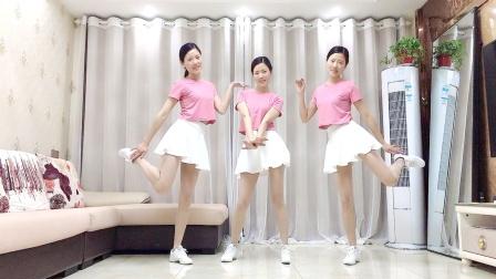 网红广场舞《一半清醒一半醉》简单健身操