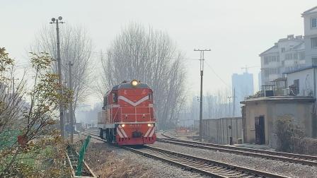 DF7C-5163道口调车作业