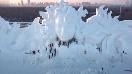 冰雪风情之黑龙江冬景