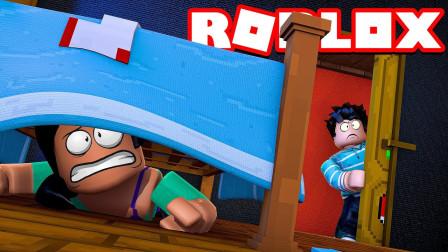 Roblox变身躲猫猫:我是一个垃圾桶!变成奇葩物体!