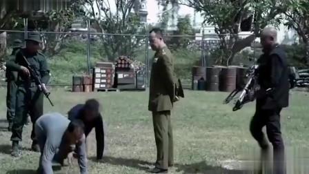 你跑啥,你去扯他口袋啊