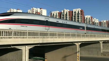 2021年春节期间前-银川高铁拍车视频记。