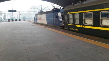 火车视频(533拍车运转第266期):北京K601太原东