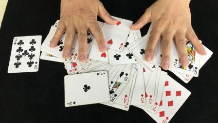 为什么魔术师洗牌不乱?特简单,学会后逗朋友玩