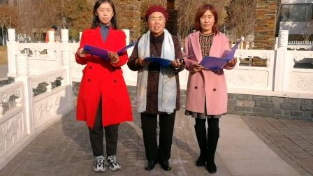 母女同诵《人民解放军占领南京》