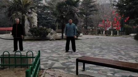 杨式傅传85太极拳