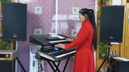《心上罗加》视频双电孑琴演奏2021.2.12.