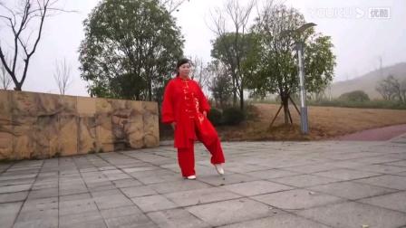42太极剑,大年初一就是这样过,祝德江太极拳协会,新年快乐,万事如意