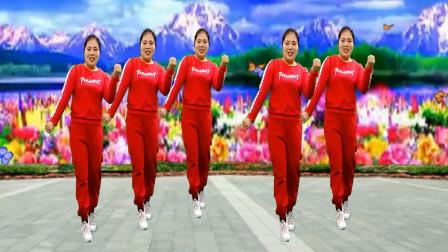 新年喜庆广场舞《旺旺旺》祝牛年大吉 人旺财旺运气旺
