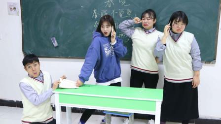 老师上课总是拖堂,同学们耍花招整治老师,不料全被识破!