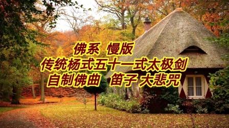 佛系  传统杨式五十一式太极剑  慢版  步步清风上传