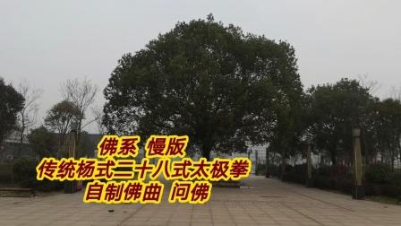 佛系  传统杨式二十八式太极拳  慢版  好听的佛乐  问佛  步步清风上传