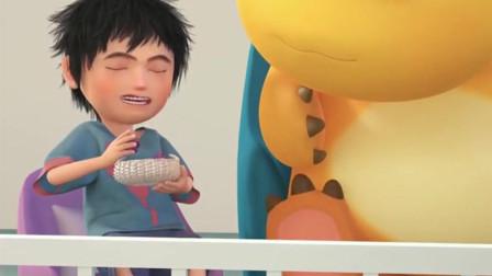 奶龙:真的是好甜呀!