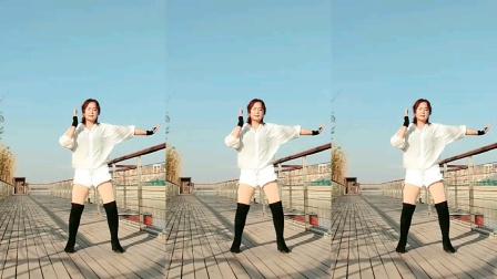 南阳红泥湾小娟广场舞,动感时尚流行舞《全民迪斯科》