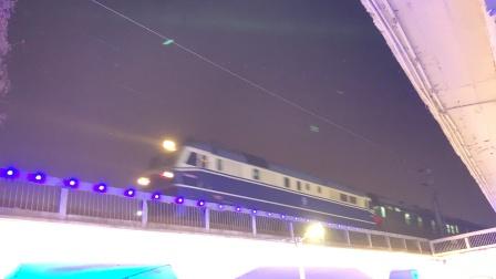 宁东狮子牵引K5819发车,淮北到上海临客