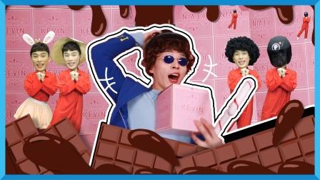 巧克力匠人凯文!千奇百怪的巧克力他都有