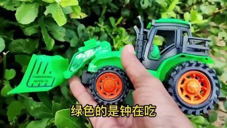 寻找车辆玩具,三轮车,校车,巴士车和装载车玩具