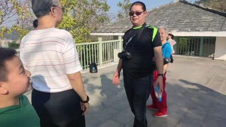 跟几位老师们游(铁仔山公园)2021.2.15